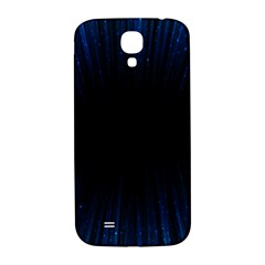 Colorful Light Ray Border Animation Loop Blue Motion Background Space Samsung Galaxy S4 I9500/i9505  Hardshell Back Case by Mariart