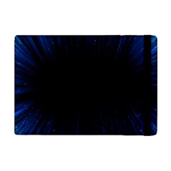 Colorful Light Ray Border Animation Loop Blue Motion Background Space Ipad Mini 2 Flip Cases by Mariart