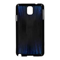 Colorful Light Ray Border Animation Loop Blue Motion Background Space Samsung Galaxy Note 3 Neo Hardshell Case (black) by Mariart