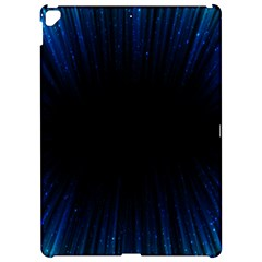 Colorful Light Ray Border Animation Loop Blue Motion Background Space Apple Ipad Pro 12 9   Hardshell Case by Mariart