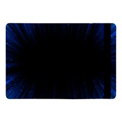 Colorful Light Ray Border Animation Loop Blue Motion Background Space Apple Ipad Pro 10 5   Flip Case by Mariart
