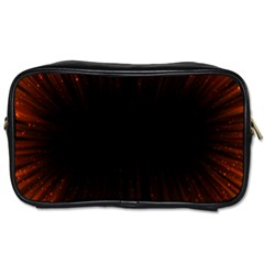 Colorful Light Ray Border Animation Loop Orange Motion Background Space Toiletries Bags by Mariart