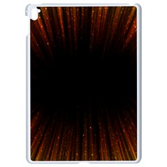 Colorful Light Ray Border Animation Loop Orange Motion Background Space Apple Ipad Pro 9 7   White Seamless Case by Mariart