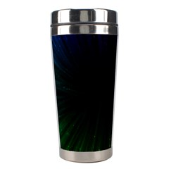 Colorful Light Ray Border Animation Loop Rainbow Motion Background Space Stainless Steel Travel Tumblers by Mariart
