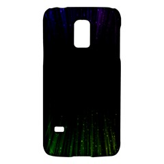 Colorful Light Ray Border Animation Loop Rainbow Motion Background Space Galaxy S5 Mini by Mariart