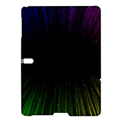 Colorful Light Ray Border Animation Loop Rainbow Motion Background Space Samsung Galaxy Tab S (10 5 ) Hardshell Case  by Mariart