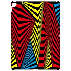 Door Pattern Line Abstract Illustration Waves Wave Chevron Red Blue Yellow Black Apple Ipad Pro 12 9   Hardshell Case by Mariart