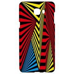 Door Pattern Line Abstract Illustration Waves Wave Chevron Red Blue Yellow Black Samsung C9 Pro Hardshell Case  by Mariart