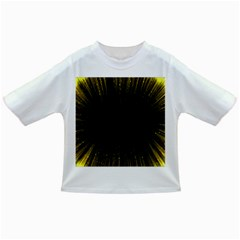 Colorful Light Ray Border Animation Loop Yellow Infant/toddler T Shirts by Mariart