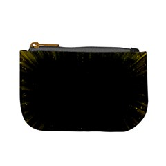 Colorful Light Ray Border Animation Loop Yellow Mini Coin Purses by Mariart