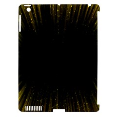 Colorful Light Ray Border Animation Loop Yellow Apple Ipad 3/4 Hardshell Case (compatible With Smart Cover) by Mariart