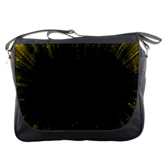 Colorful Light Ray Border Animation Loop Yellow Messenger Bags by Mariart