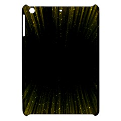 Colorful Light Ray Border Animation Loop Yellow Apple Ipad Mini Hardshell Case by Mariart