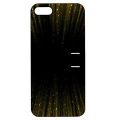 Colorful Light Ray Border Animation Loop Yellow Apple Iphone 5 Hardshell Case With Stand by Mariart