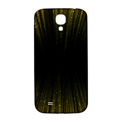 Colorful Light Ray Border Animation Loop Yellow Samsung Galaxy S4 I9500/i9505  Hardshell Back Case by Mariart