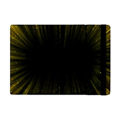 Colorful Light Ray Border Animation Loop Yellow Ipad Mini 2 Flip Cases by Mariart