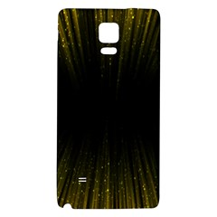 Colorful Light Ray Border Animation Loop Yellow Galaxy Note 4 Back Case by Mariart