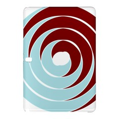 Double Spiral Thick Lines Blue Red Samsung Galaxy Tab Pro 12 2 Hardshell Case by Mariart