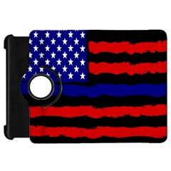 Flag American Line Star Red Blue White Black Beauty Kindle Fire Hd 7  by Mariart