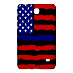 Flag American Line Star Red Blue White Black Beauty Samsung Galaxy Tab 4 (7 ) Hardshell Case  by Mariart