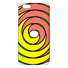 Double Spiral Thick Lines Circle Iphone 6 Plus/6s Plus Tpu Case by Mariart
