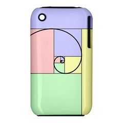 Golden Spiral Logarithmic Color Iphone 3s/3gs by Mariart