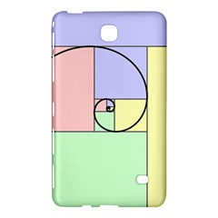 Golden Spiral Logarithmic Color Samsung Galaxy Tab 4 (7 ) Hardshell Case  by Mariart