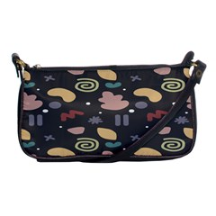 Funky Pattern Polka Wave Chevron Monster Shoulder Clutch Bags by Mariart
