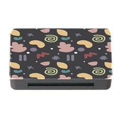 Funky Pattern Polka Wave Chevron Monster Memory Card Reader With Cf by Mariart