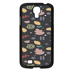 Funky Pattern Polka Wave Chevron Monster Samsung Galaxy S4 I9500/ I9505 Case (black) by Mariart