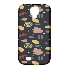 Funky Pattern Polka Wave Chevron Monster Samsung Galaxy S4 Classic Hardshell Case (pc+silicone) by Mariart