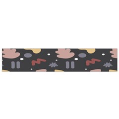 Funky Pattern Polka Wave Chevron Monster Flano Scarf (small) by Mariart