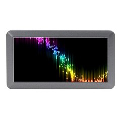Illustration Light Space Rainbow Memory Card Reader (mini) by Mariart