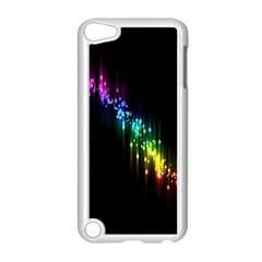 Illustration Light Space Rainbow Apple Ipod Touch 5 Case (white) by Mariart