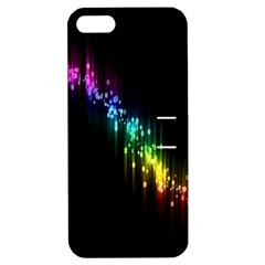 Illustration Light Space Rainbow Apple Iphone 5 Hardshell Case With Stand by Mariart