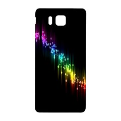 Illustration Light Space Rainbow Samsung Galaxy Alpha Hardshell Back Case by Mariart