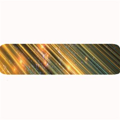 Golden Blue Lines Sparkling Wild Animation Background Space Large Bar Mats by Mariart