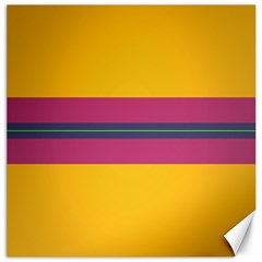 Layer Retro Colorful Transition Pack Alpha Channel Motion Line Canvas 12  X 12   by Mariart