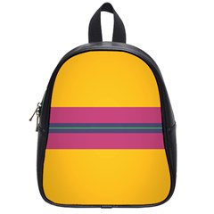Layer Retro Colorful Transition Pack Alpha Channel Motion Line School Bag (small) by Mariart