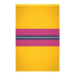 Layer Retro Colorful Transition Pack Alpha Channel Motion Line Shower Curtain 48  X 72  (small)  by Mariart