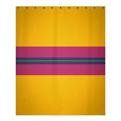 Layer Retro Colorful Transition Pack Alpha Channel Motion Line Shower Curtain 60  X 72  (medium)  by Mariart