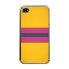 Layer Retro Colorful Transition Pack Alpha Channel Motion Line Apple Iphone 4 Case (clear) by Mariart