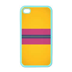 Layer Retro Colorful Transition Pack Alpha Channel Motion Line Apple Iphone 4 Case (color) by Mariart