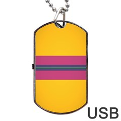 Layer Retro Colorful Transition Pack Alpha Channel Motion Line Dog Tag Usb Flash (one Side) by Mariart