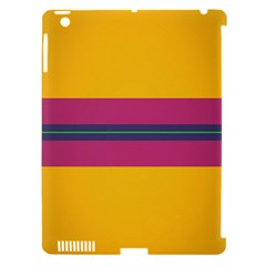 Layer Retro Colorful Transition Pack Alpha Channel Motion Line Apple Ipad 3/4 Hardshell Case (compatible With Smart Cover) by Mariart