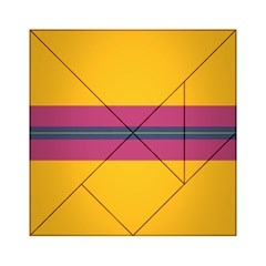 Layer Retro Colorful Transition Pack Alpha Channel Motion Line Acrylic Tangram Puzzle (6  X 6 ) by Mariart