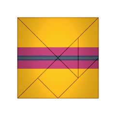 Layer Retro Colorful Transition Pack Alpha Channel Motion Line Acrylic Tangram Puzzle (4  X 4 ) by Mariart
