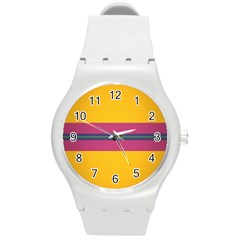 Layer Retro Colorful Transition Pack Alpha Channel Motion Line Round Plastic Sport Watch (m) by Mariart