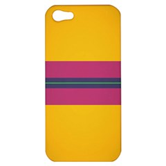 Layer Retro Colorful Transition Pack Alpha Channel Motion Line Apple Iphone 5 Hardshell Case by Mariart