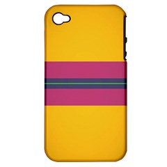 Layer Retro Colorful Transition Pack Alpha Channel Motion Line Apple Iphone 4/4s Hardshell Case (pc+silicone) by Mariart